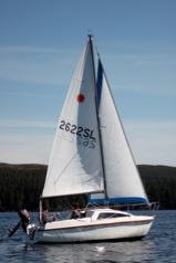 Leisure 17 Llyn Brenig Sailing Club
